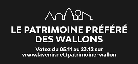 Concours : Le patrimoine préféré des Wallons