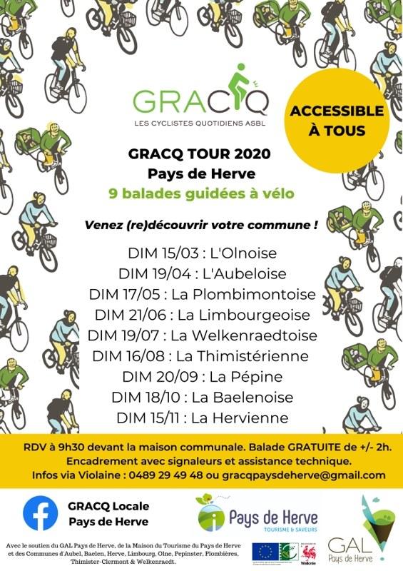 GRACQ TOUR 2020   Affiche