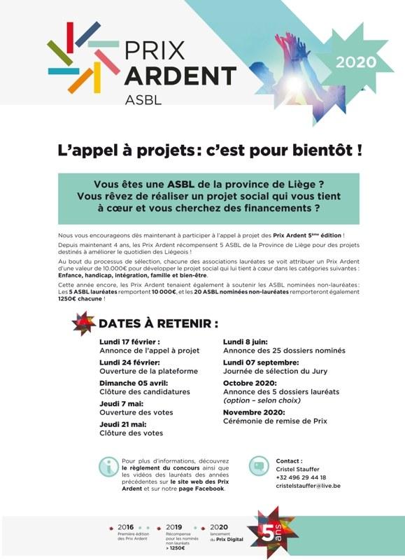 PrixArdents Affiche RelaisAsbl