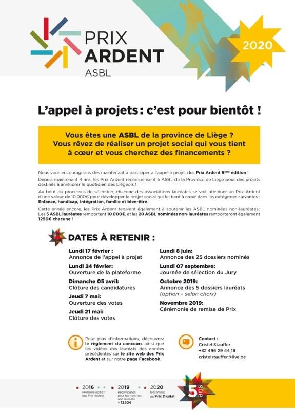 PrixArdents AfficheA4 RelaisAsbl