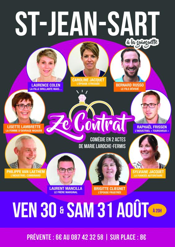 Affiche théâtre 2019