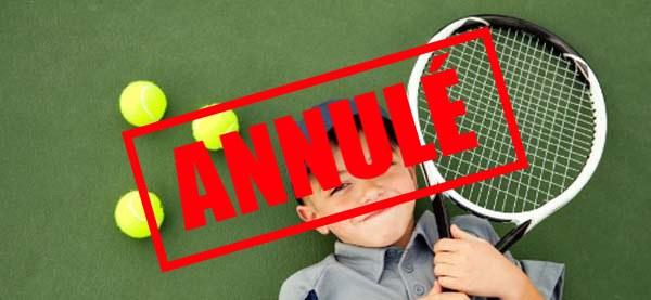 ANNULÉ - Stage Tennis-Multisports - ANNULÉ