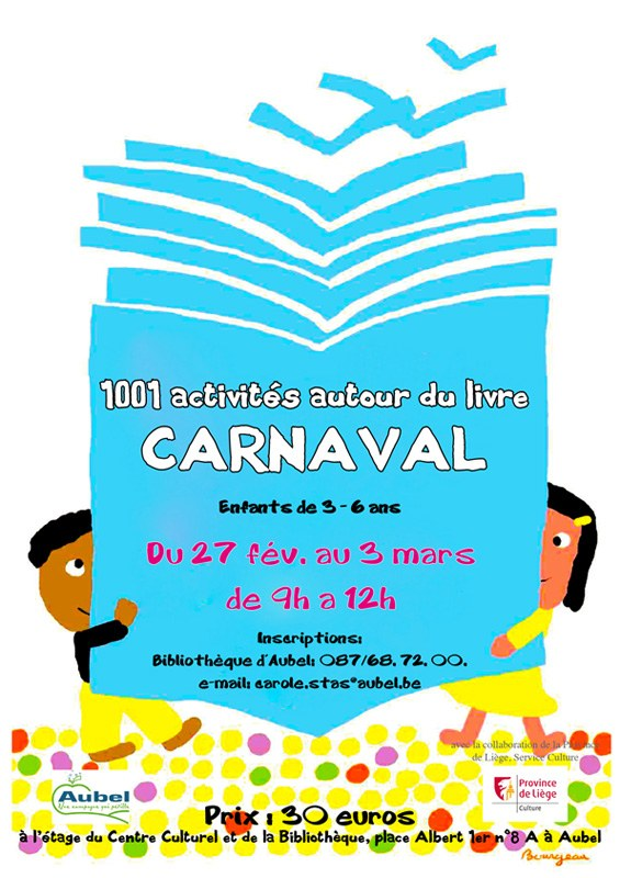 Affiche Carole Stage Carnaval 2017