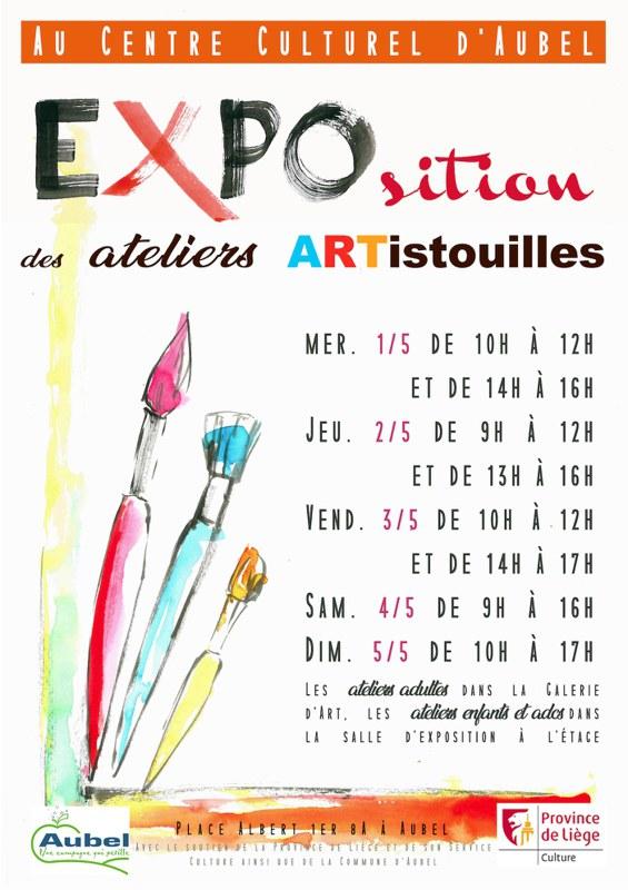 Expo ARTistouilles au CC 2019   petit