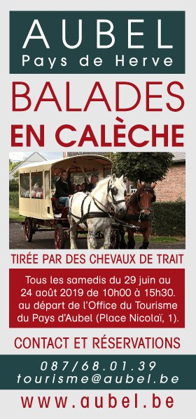flyer balades en calèches 2019 recto
