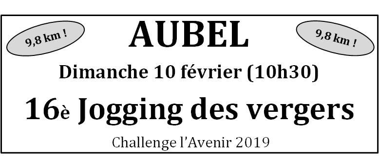 Jogging Vergers FC Aubel 2019