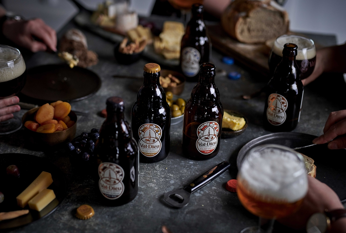 Bière Val Dieu   Nouveau packaging 0