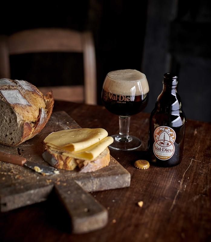 Bière Val Dieu   Nouveau packaging 1